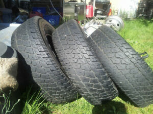 3 Avon All Terrain Radial SXT Tires R16