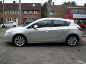 2010 Vauxhall Astra 1.4i 16v Turbo ( 140ps ) SE 5DR 10 REG Petrol Silver
