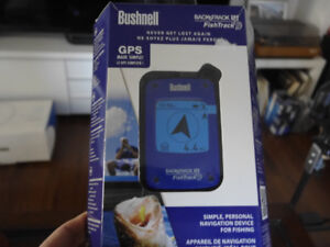 NEW Bushnell  Personal GPS Tracking Device, Blue/Black