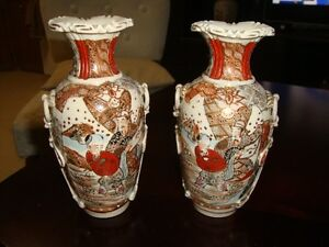 2 BEAUTIFUL OLD CHINESE VASES