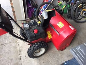 "10hp 30"" cut 2 stage snow blower MTD great shape"