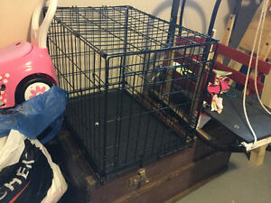 Small gently used dog crate