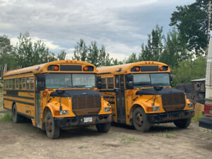 Two 2004 School Buses, 54 Passengers Per Bus