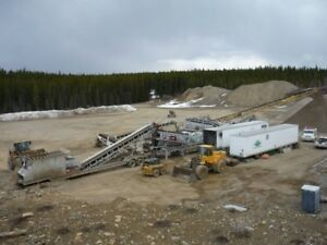 Gravel Crusher Labourer / Equipment Operator