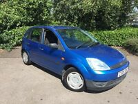 2005 Ford Fiesta Finesse 1.2 5 Door ** Full Service History ** 74000 Miles