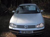 2001 Volkswagen Golf GOLF SE 5 door Hatchback