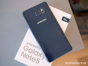 LOOKING FOR A NOTE 5 ASAP.
