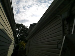 Fall Maintenance/ Eavestrough cleaning and repair