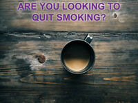 ARE YOU LOOKING TO QUIT SMOKING?