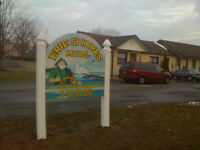Bachelor / 1 Bedroom Apartments for Lease at Erie Shores Motel