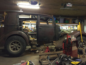 Cummins rat rod project