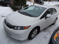 Honda Civic 2012 lease/bail takeover