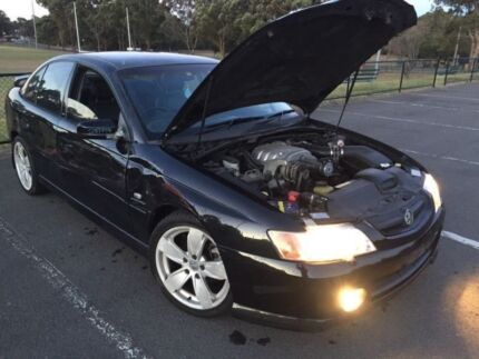 Holden Commodore VY Supercharged L67 WRECKING Black Granville Parramatta Area Preview