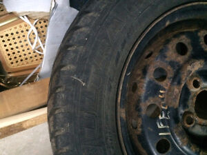 4 Goodyear Ultra Grip Ice with rims Stratford Kitchener Area image 3