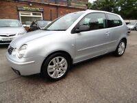 Volkswagen Polo 1.9 TDI SPORT (TIMING BELT CHANGED + FULL SERVICE HISTORY) (aluminium/silver) 2002