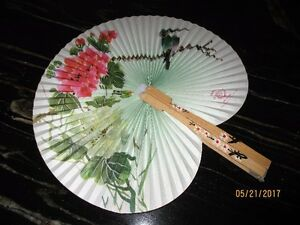VINTAGE Shanghai Fan made in the People's Republic of China