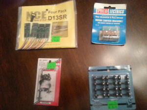 Peco HO New & Used Switches & Motors and train accessories