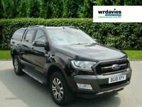 2018 Ford Ranger WILDTRAK 4X4 DCB TDCI 3.2 AUTO, WITH TRUCKMAN CANOPY Pick Up Di