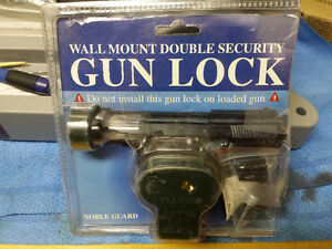 Wanted: Noble Guard Wall Mount Gun-Locks