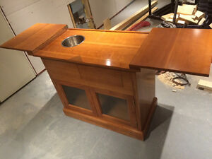 Solid cherry buffet hand crafted $99 Kitchener / Waterloo Kitchener Area image 1