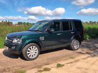 Land Rover Discovery 3.0SDV6 (255bhp) auto XS Commercial 2014 Aintree Green 115k