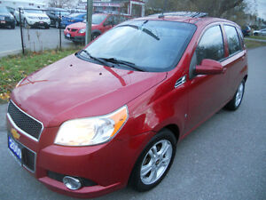 2009 Chevrolet Aveo Hatchback 100 KMS Loaded s.roof 3995
