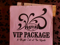 The Ranch - VIP package