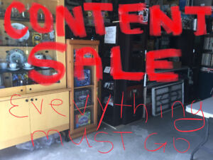 CONTENT SALE - Electronics- Lp's - ( Everything Must Go)