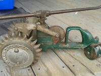 Lincoln walking tractor