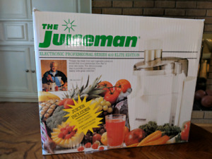 Juiceman 410 Series - Elite Edition Juicer (Rare)