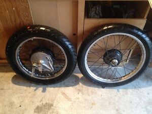 Avon Roadrider tires, front and rear set