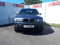 2003 03 BMW X5 3.0i AUTOMATIC SPORT.SUPERB COLOUR,VERY NICE EXAMPLE.PX WELCOME .