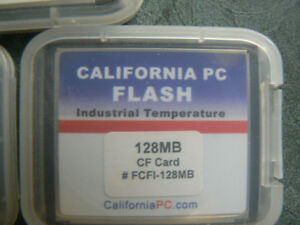 PC INDUSTRIAL COMPACTFLASH CARDS