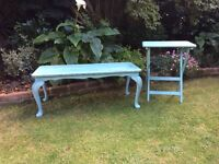 Shabby Chic Coffee Table & Desk - Annie Sloan Provence