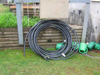 """Black Potable Water Pipe  Coiled Rolls 1"""""""