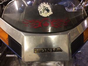 Honda Goldwing 1200 GL1200 windshield trim windscreen garnish