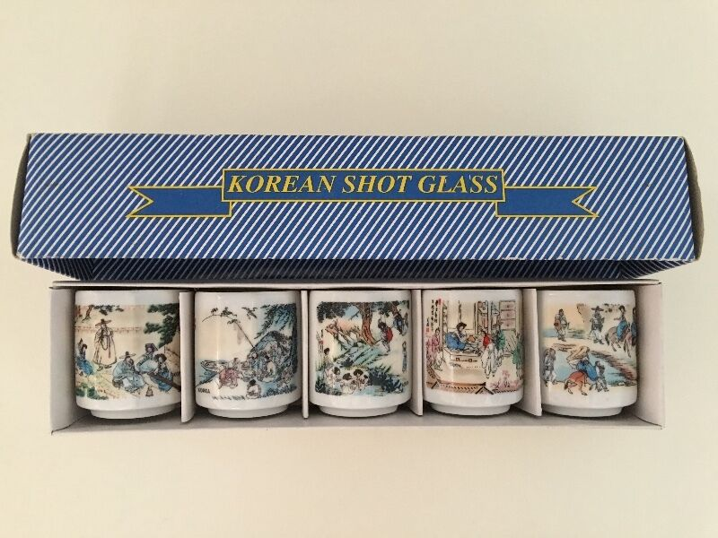 Korean shot glass