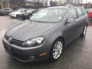 Sweet 2013 Volkswagen Golf Wagon TRADE for minivan / 7 pass SUV?
