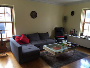 In Westmount, sun-filled, beautiful large 4½ apartment,1 bedroom