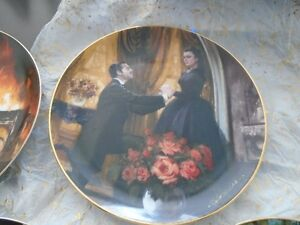Gone With the Wind, Golden Anniversary Plate series Peterborough Peterborough Area image 5