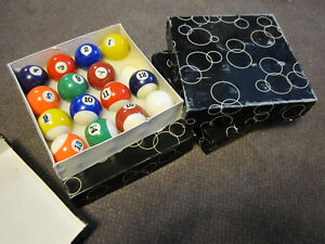 Billiard Balls - Traditional Sets ( Missing 8-Balls) - in Box Kitchener / Waterloo Kitchener Area image 1