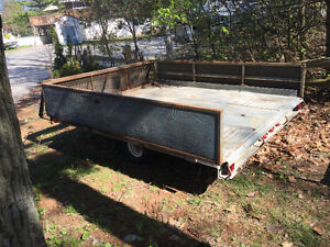7x8 tilt and load trailer