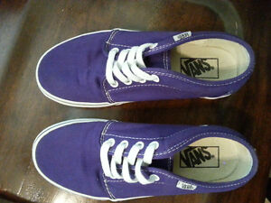 "Vans ""Off the Wall"" Purple/White 106 Vulcanized"
