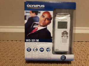 Olympus WS-321M Digital Voice Recorder and WMA Music Player