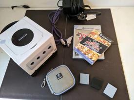 Pearl White Nintendo GameCube + Games & Accessories