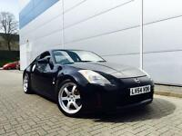 2004 54 Reg Nissan 350Z 3.5 V6 GT Pack Coupe Black + Black LEATHER