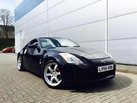 2004 54 Reg Nissan 350Z 3.5 V6 GT Pack Coupe Black + Black LEATHER