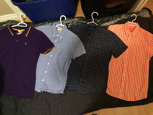 Mens Collared/Botton Tees