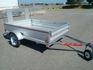Utility Trailer 5' x 7' with fold down front gate opens to 8'6""