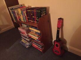 Solid pine bookshelf/bedside unit
